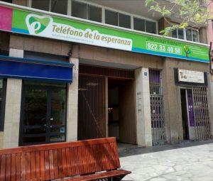 Sede Teléfono de la Esperanza de Canarias en Tenerife