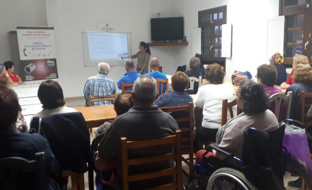 Silvia Florido durante la presentación
